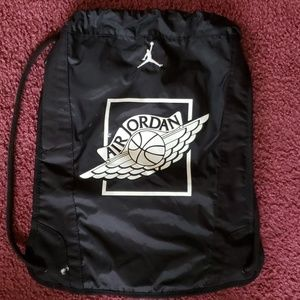 Jordan draw string bag